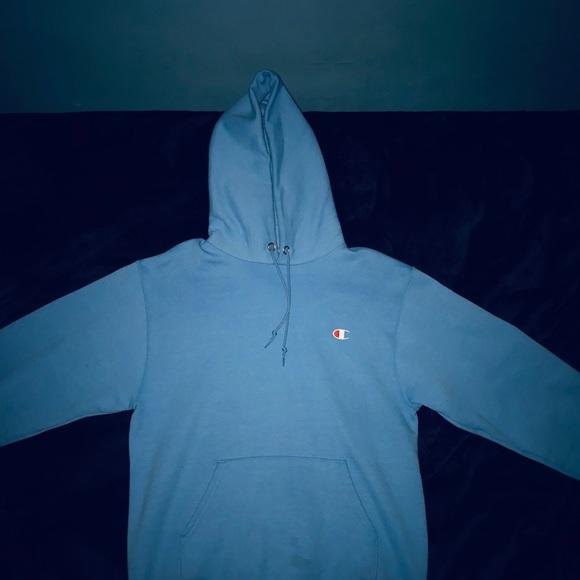 42371168d Champion Sweaters | Rare X Uo Stacked Eco Hoodie Sweatshirt | Poshmark